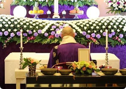 一日葬の僧侶手配