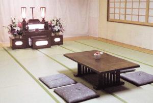 香華殿北広島斎場和室